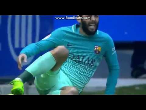 Aleix Vidal sofre fratura na partida Barcelona 6-0 Alaves – Aleix Vidal injury