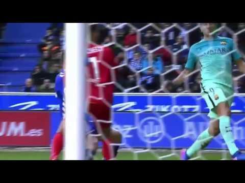 Alaves vs Barcelona 0 6 All Goals   Extended Highlights   La Liga 11 2 2017 HD