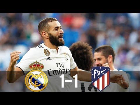 Real Madrid vs Atletico Madrid 1-1 – All Goals & Extended Highlights – La Liga 08/04/2018 HD