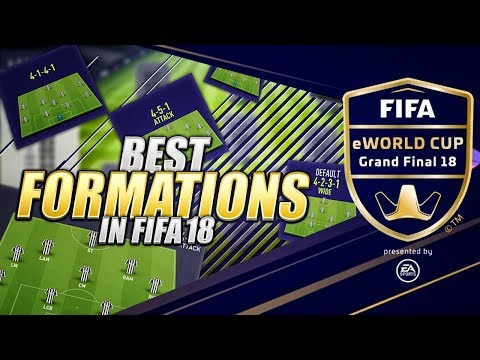 BEST FORMATIONS IN FIFA 18 ULTIMATE TEAM – FUTCHAMPIONS FINALS BARCELONA FIFA E-WORLD CUP