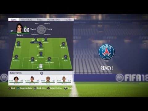 FIFA 18 PSG review – Best formation, Best tactics and instructions