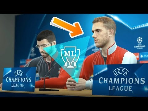 PES 2018 Player Face | Better Graphics than FIFA 18?