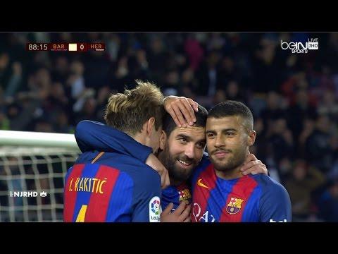 Barcelona vs Hércules 7-0 All Goals 21-12-2016 HD