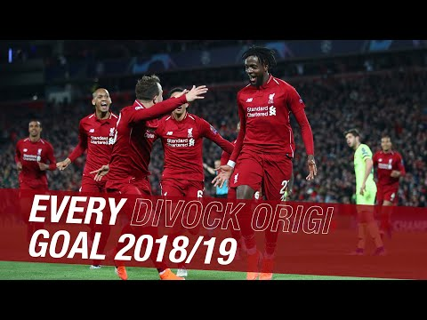 All of Divock Origi's goals from the 2018-19 season | Everton, Barcelona, Tottenham