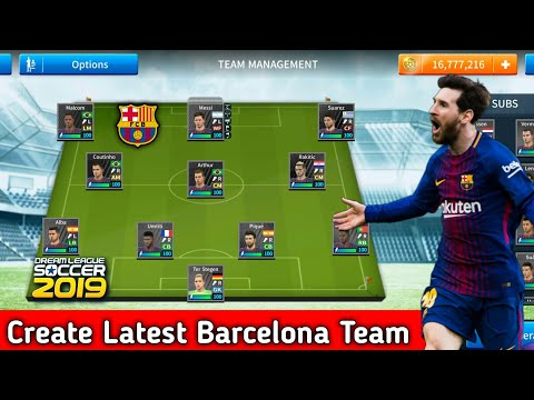 How To Hack FC Barcelona Team 2018-19 ○ All Players 100