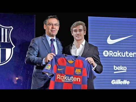 Antoine Griezmann Welcome to Barcelona ? Confirmed Summer Transfers 2019