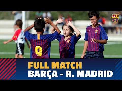 FINAL Media Gol Cup (Alevín): FC Barcelona – Real Madrid (2-2, 5-4)
