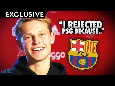 De Jong's FIRST WORDS as BARCELONA PLAYER! *Exclusive Interview* – Barcelona News – BugaLuis
