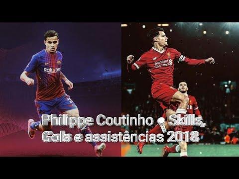 Philippe Coutinho 2018 | Liverpool FC/Barcelona FC | Dribles, Assistências & Gols 2017/2018