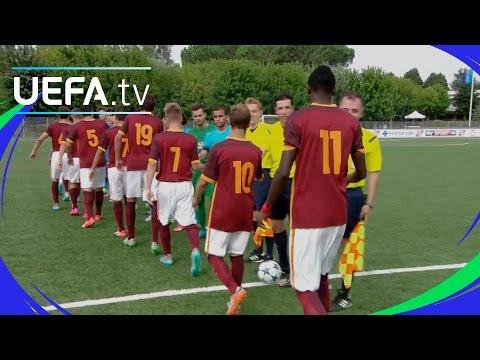 Roma 0-0 Barcelona: UEFA Youth League highlights