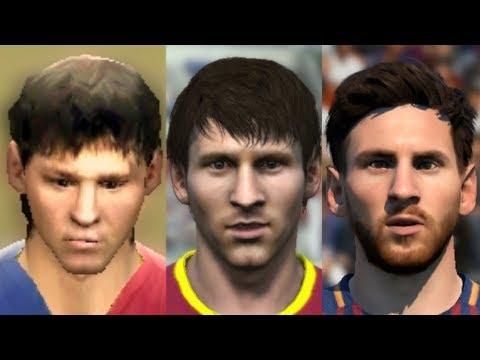 Lionel Messi evolution: FIFA 06 – FIFA 18