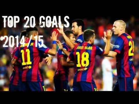 FC Barcelona – Top 20 Goals 2014/15 ● HD
