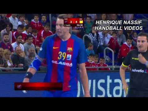 FC Barcelona Lassa x Bidasoa Irun Liga ASOBAL 2017 FULL MATCH