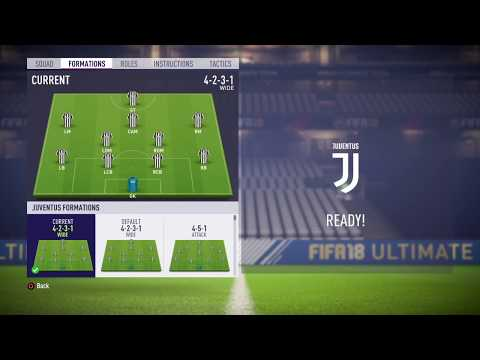FIFA 18 Juventus review – Best formation, Best tactics and instructions