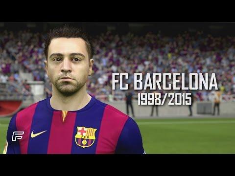 Xavi Hernández – FC Barcelona: 1998/2015 (FIFA 15 Tribute)