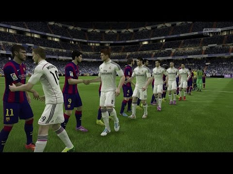(PS4/Xbox One) FIFA 15 | Real Madrid vs FC Barcelona – Next-Gen Full Gameplay (1080p HD)