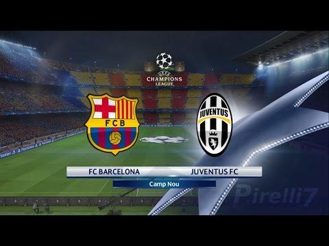 PES 2017: FC Barcelona vs Juventus  CAMP NOU  Champions League 19/04/2017  SUPERSTAR – by Pirelli7