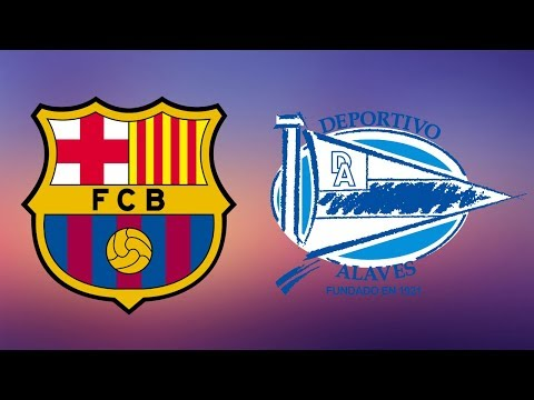 Barcelona vs Deportivo Alaves Full Match – La Liga 2018/19 – Gameplay