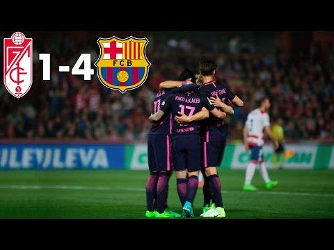 Granada CF 1-4 FC Barcelona | Maç Özeti, Türkçe Spiker | 02/04/2017 • HD