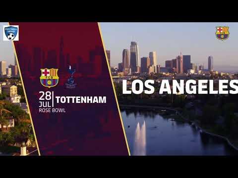 FC Barcelona USA Summer Tour 2018