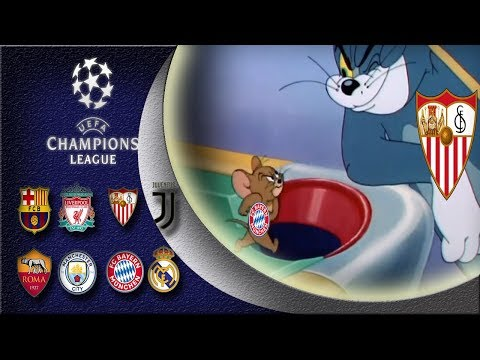 Champions League 1/4 final 1st leg compilation parody