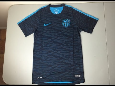 Review: 2015/2016 FC Barcelona Flash Night Rising Training Jersey