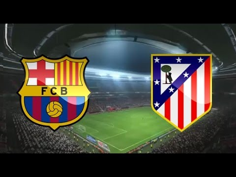 PES 2014 – FC Barcelona vs Atletico Madrid – Gameplay