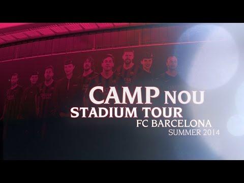 FC Barcelona Nou Camp Stadium & Museum Tour – Summer 2014
