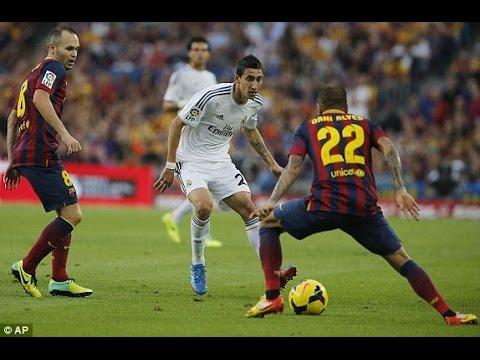 Ángel Di María ● All Skills Vs Barcelona  ●  Assists / Goals 2010 – 2014 ● HD