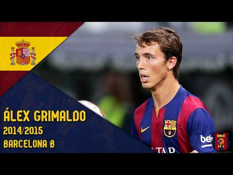 Álex Grimaldo 2014/2015 ● Barcelona B