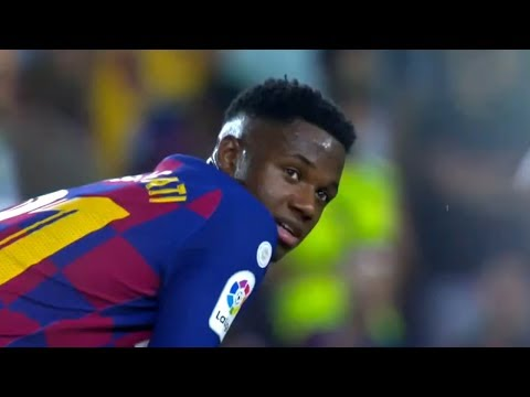16 Years Old Ansu Fati debut for Barcelona 2019 | HD 1080i