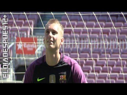 Cillessen alucina en el Camp Nou ◉ Presentación ◉ FC Barcelona ◉ 2016