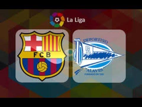 Barcelona Vs Alaves LIVE