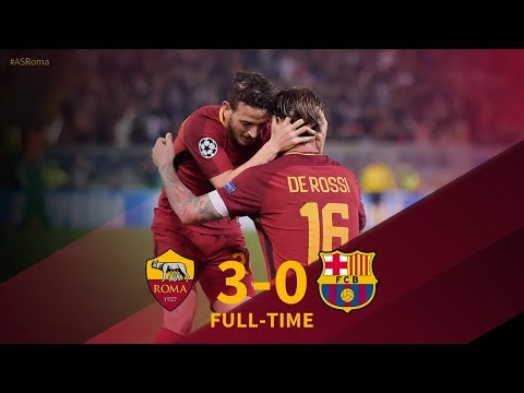 AS Roma vs FC Barcelona 10/04/2018 | All Goals & Highlights | Champions League 2018 HD