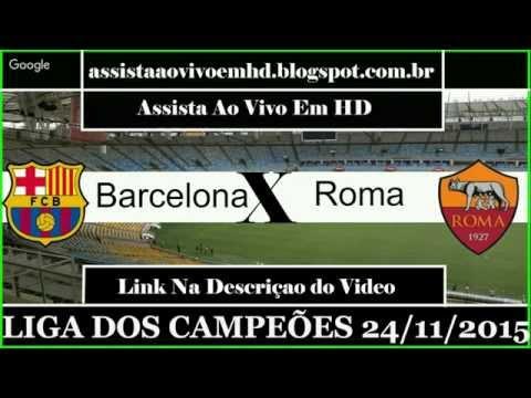 Barcelona vs As Roma Preview Uefa champion league- VIVO 24/11/15 HD