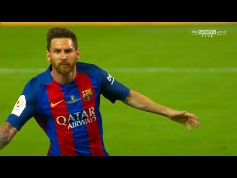 Lionel Messi vs Alaves (Copa Del Rey Final) 2016-17 HD 720p