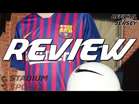 REVIEW: Barcelona Official Nike Home Jersey 2018-2019
