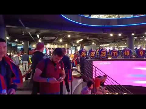 Megastore FC Barcelona, Camp Nou, begini penampakannya