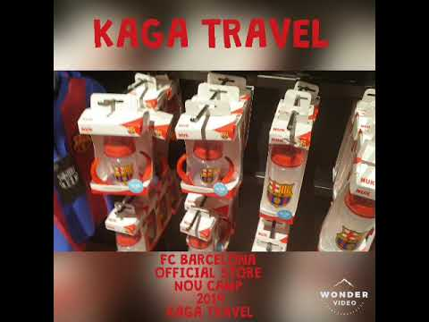 FC BARCELONA OFFICIAL STORE 2019 KAGA TRAVEL