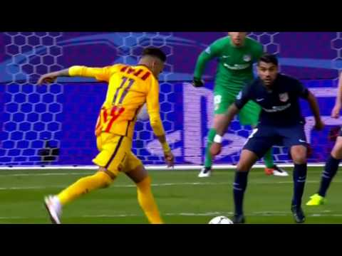 Atletico Madrid vs FC Barcelona 2-0 Highlights (UCL) 2015-16 HD 720p (English Commentary)