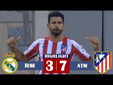 Real Madrid vs Atletico Madrid (3-7) Highlights & Goals HD (27/07/2019)