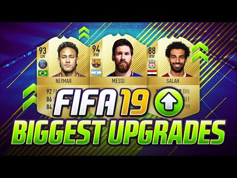 FIFA 19 | BIGGEST UPGRADES | PLAYERS RATINGS PREDICTIONS | w/ NEYMAR JR. SALAH & MESSI | FUT 19