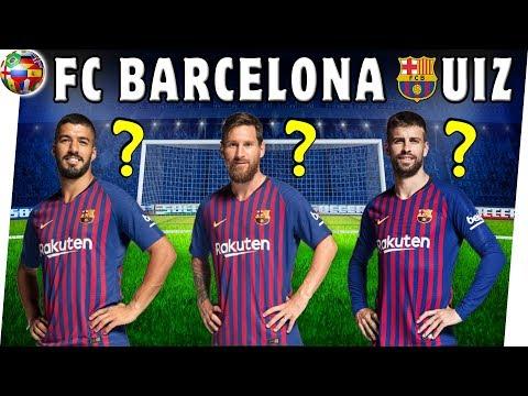 How Well Do You Know FC BARCELONA Players?   Season 2018/2019   FC Barcelona Quiz