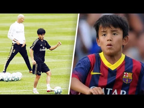 "The ""Japanese Messi"" stolen by Real Madrid from FC Barcelona – Oh My Goal"