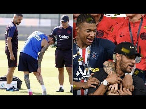 Barcelona News Round-up ft Lionel Messi Injury & Neymar Jr Transfer Latest
