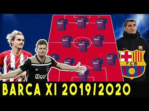 FC Barcelona Starting Lineup Next Season 2019/2020 ft. Griezmann & de Ligt