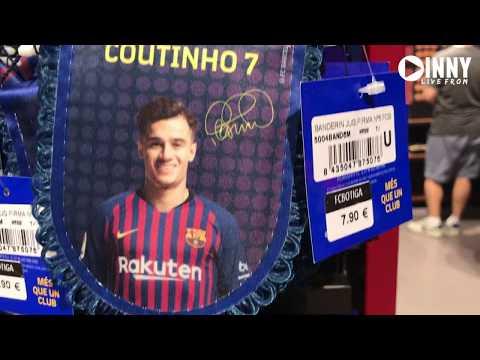 FC Barcelona Mega Store Camp Nou (with price!) 2019