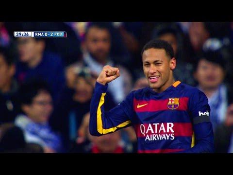 Neymar vs Real Madrid Away HD 1080i (21/11/2015) by MNcomps