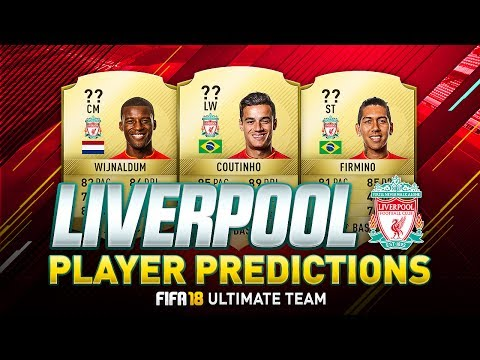 FIFA 18 | LIVERPOOL  PLAYER RATINGS PREDICTIONS | w/ FIRMINO, MANÉ & COUTINHO | FUT 18