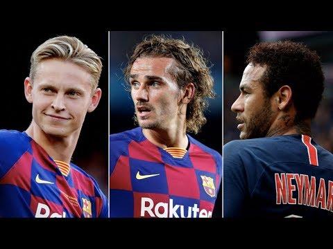 Barcelona Summer Transfer Window 2019 Review – ft Griezmann, de Jong, Neymar